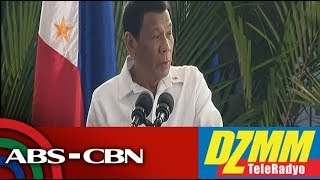 DZMM TeleRadyo: Duterte thumbs down proposal to 'legalize' rice smuggling