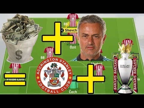 CAN A £1 BILLION MANAGER TAKE ACCRINGTON TO THE EPL? - FIFA 17 EXPERIMENT - FIFA 17 CAREER MODE