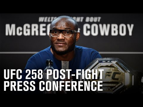 UFC 258: Post-fight Press Conference