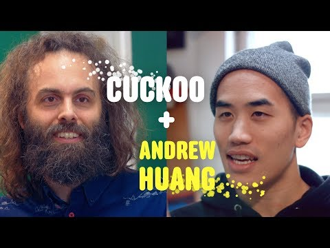 Andrew Huang + Cuckoo Interview each other (kind of)