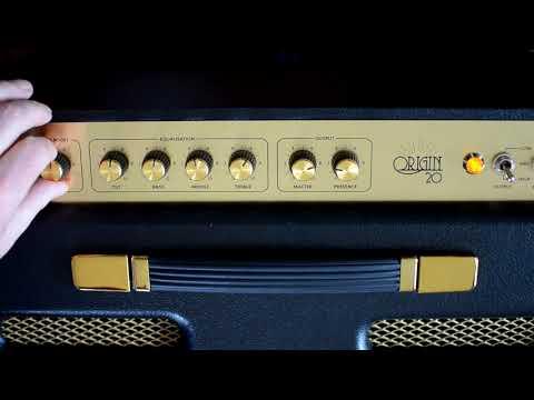Marshall: ORIGIN 20C Combo. The proper demo.