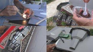 La  conception & construction des fontaines ► méthodes d'assemblage, découpes, collage ...