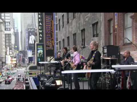 Paul McCartney - David Letterman Show
