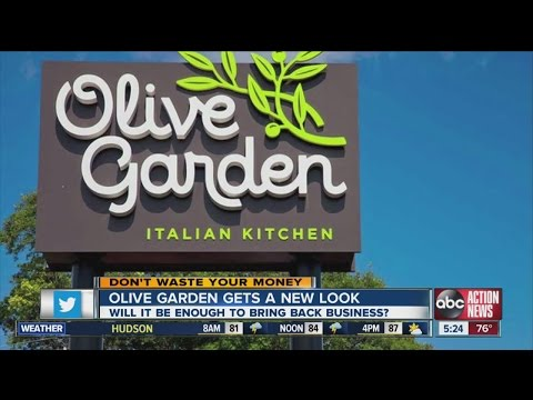 Don't Waste Your Money: Olive Garden gets a new look