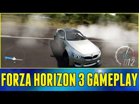 Forza Horizon 3 Gameplay : DRIFTING GAMEPLAY & WIDEBODY BMW M4!!! (Exclusive Gameplay)