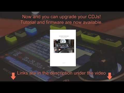 Now and you can upgrade your CDJs! CDJ-1000mk3 SD-card playback