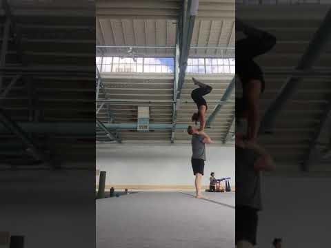 Partner Acrobatics Training AcroSunshine & Jerod