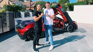 Chris Eubank Jr and his insane Mansory McLaren 720s!