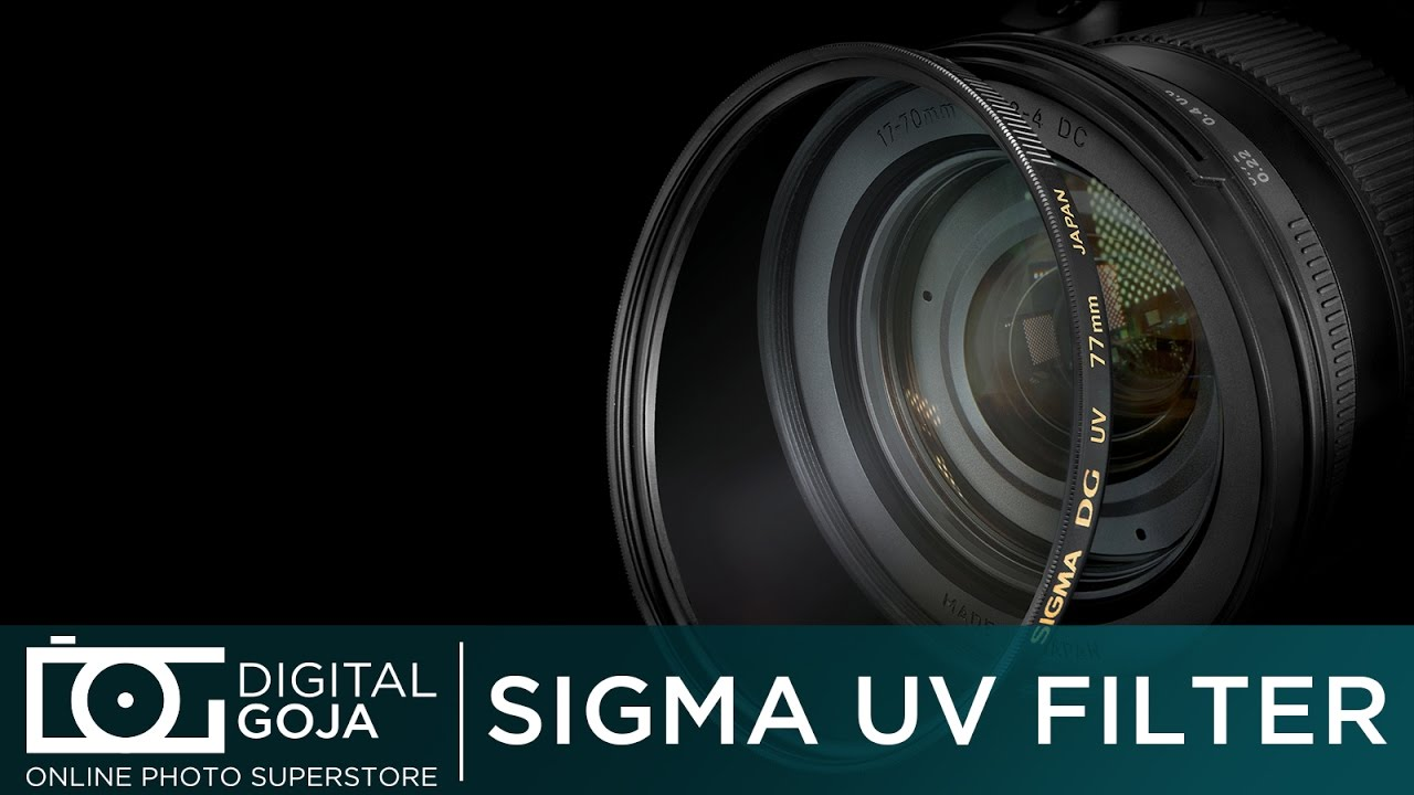 Best UV Filter DG Multicoated | Why you need a UV lens protection filter |  Sigma Filters
