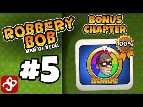 Robbery Bob - Bonus Chapter (BONUS) Level 1-15 Gameplay Video