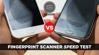 HTC 10 vs Galaxy S7 - Fingerprint Scanner Speed Test