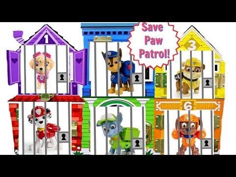Best Learning Colors Video for Children Paw Patrol Jail Rescue Gumballs | Fizzy Fun Toys
