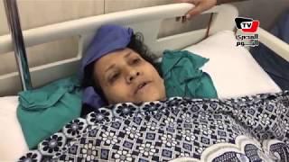 إحدى مصابي «حادث المنيا» تروي تفاصيل الواقعة