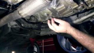 Saturn Astra Automatic Transmission Fluid Drain