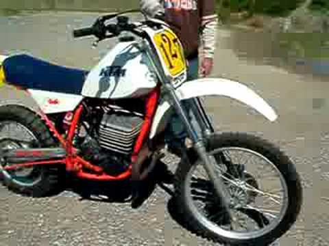 1983 ktm 495 vintage motocross bike for sale youtube. Black Bedroom Furniture Sets. Home Design Ideas