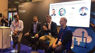 'Fear CLOUD NOT: Cloud security myths and truths' Microsoft Tech Summit Warsaw Panel