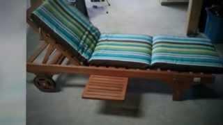 Strathwood Chaise Lounge