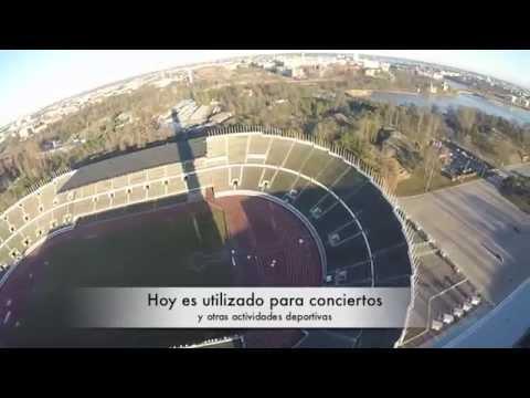 Vblog Olympic Stadium   Helsinki, Finland