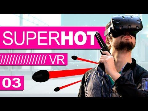DESESPERO NO CEMITÉRIO! - SUPER HOT VR (Ep. 03)