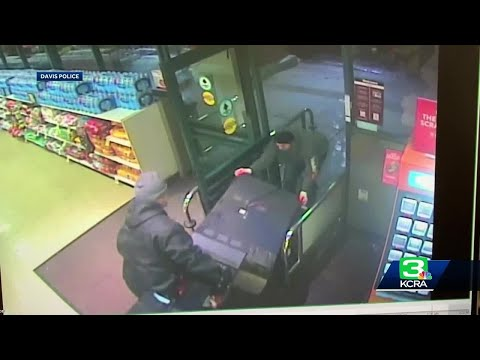 Heath West - Group Steals Lottery Vending Machine