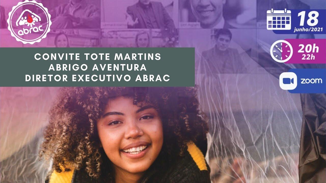 Encontrão ABRAC 2021 - Convite Tote Martins