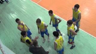 Финал, городские соревнования, волейбол Школа №17, Иркутск 07.02.16 со школой №39 3-я партия