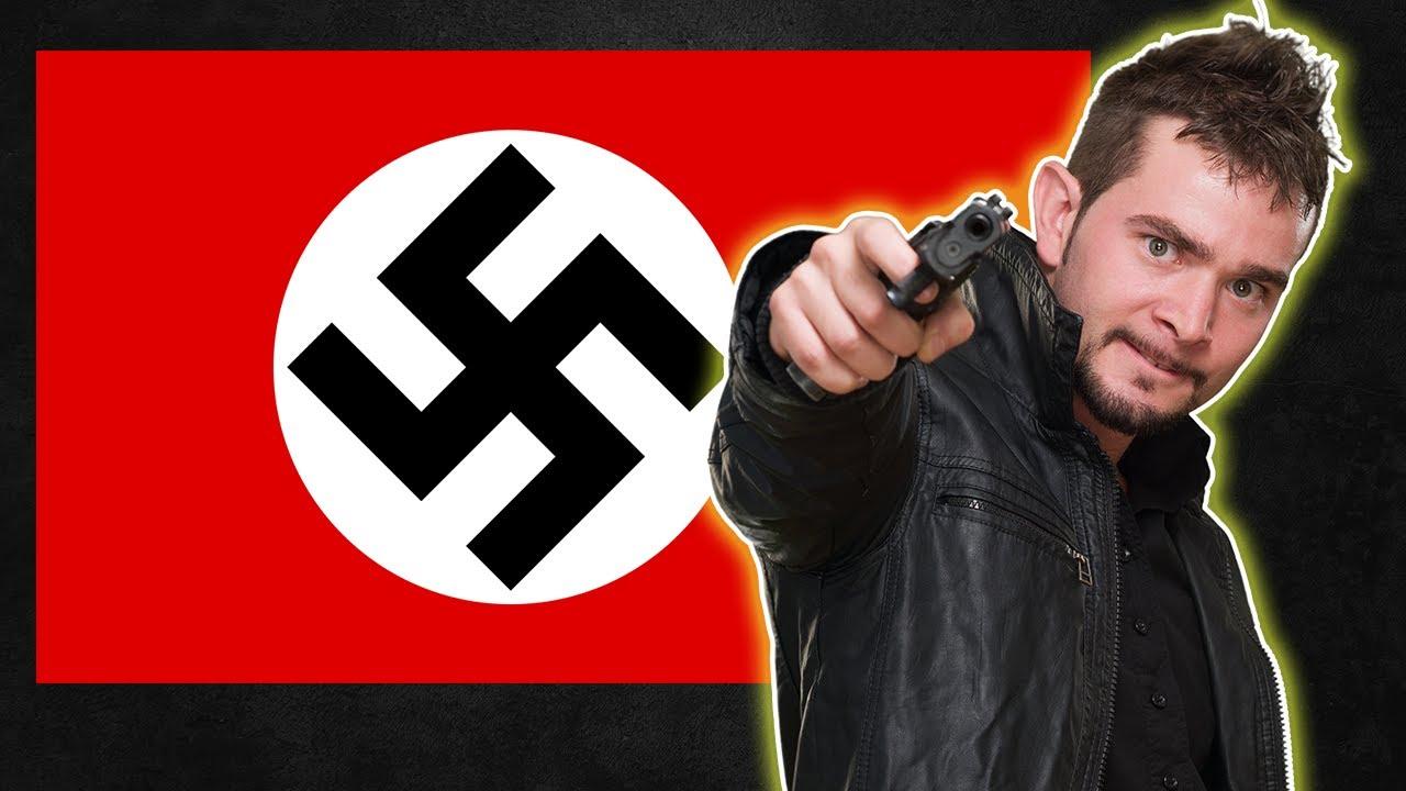 Shot 4 Times Stealing Nazi Flag
