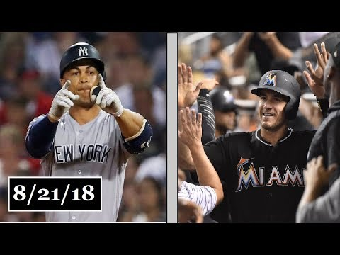 New York Yankees vs Miami Marlins Highlights || August 21, 2018