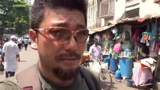 アキーラさん散策①インド・ムンバイのスラム街!Slum in Mumbai in India