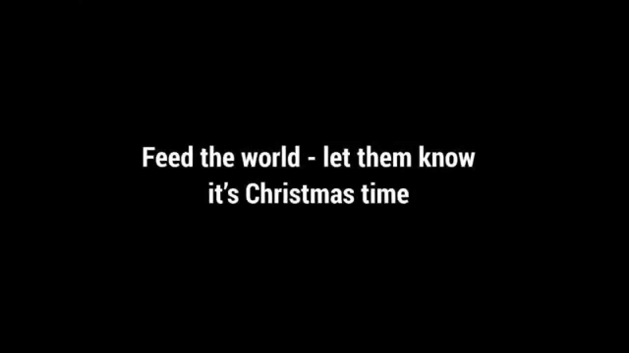 Band Aid 30 - Do They Know It's Christmas? (2014) - Lyrics - YouTube