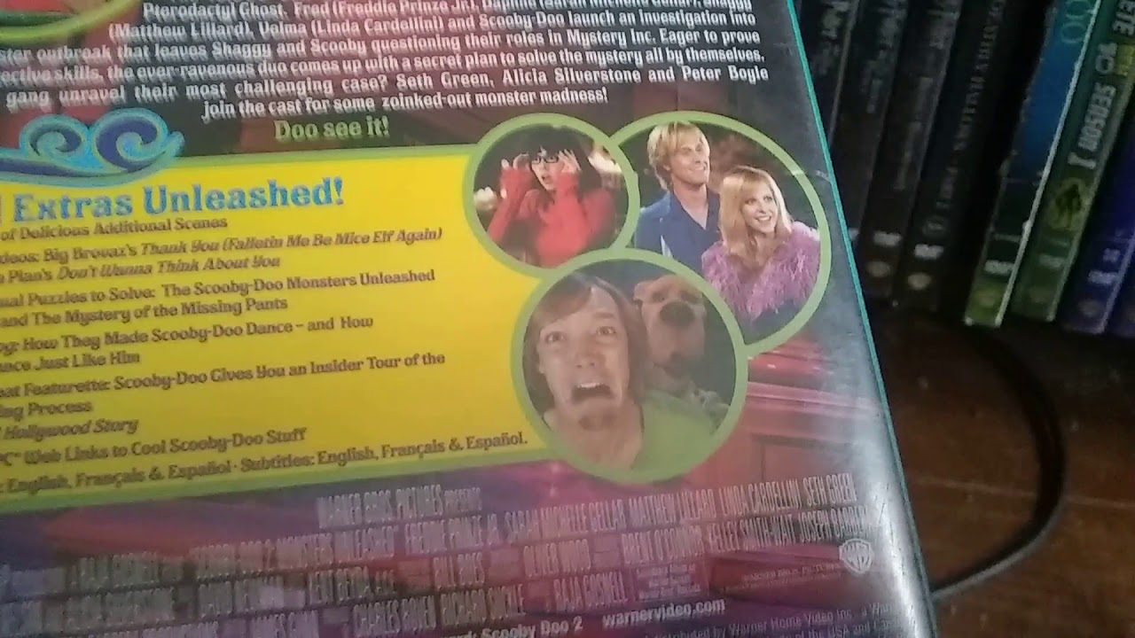 Scooby Doo 2 Monsters Unleashed 2004 Dvd Review Youtube