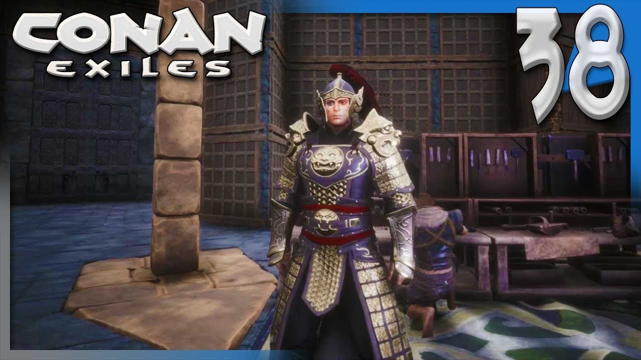 CHECKING OUT THE DLC DECOR, ARMOR, AND WEAPONS! | Conan Exiles Multiplayer  Gameplay/Let's Play S4E