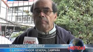 Dirigente Leonardo Gutiérrez es sindicado por presunto fraude al fisco