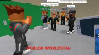 {{ROBLOXWORLDSTAR}} GVG Member Fights A Full Beard Man In The Bathrooms!