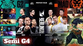 G2 Esports vs Mad Lions - Game 4 | Semi Final PlayOffs S10 LEC Spring 2020 | G2 vs MAD G4