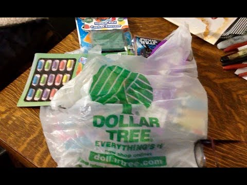 Relaxing Dollar Tree Haul ASMR Soft Spoken, ..for kids of all ages
