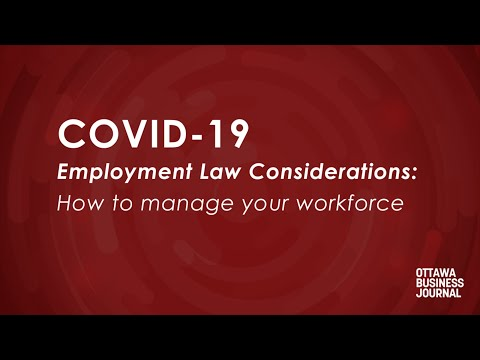 Coping with COVID-19: Employment law and temporary layoffs