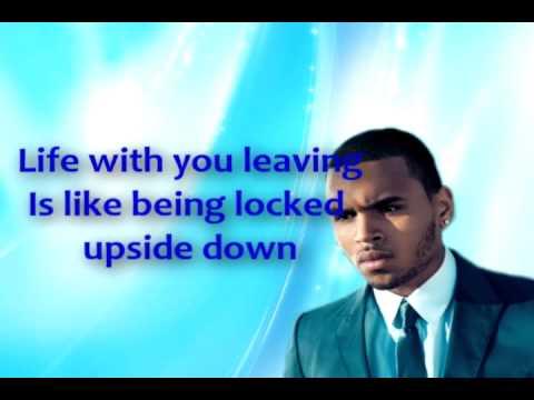Free Run - Chris Brown Lyrics