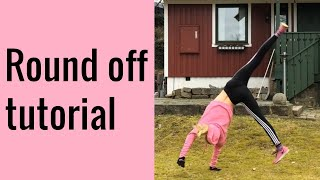 Round off tutorial | gymnastics for beginners
