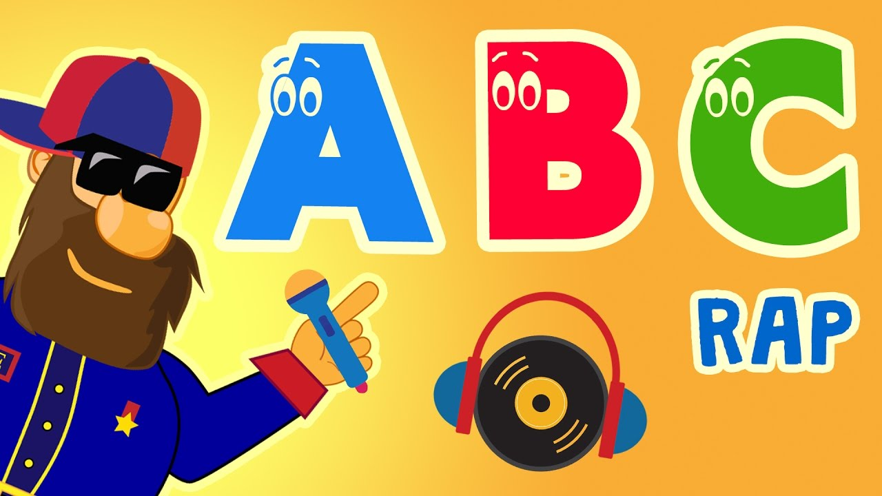 ABC Song - Alphabet Song in Rap Style - Nursery Rhymes | Captain English  Songs