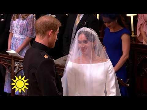 Här möter prins Harry sin brud Meghan - Nyhetsmorgon (TV4)
