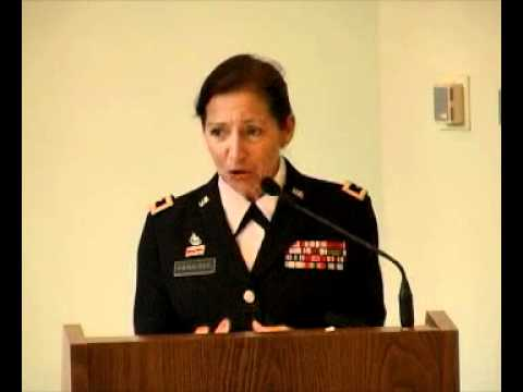Jepson Leader-in-Residence Major General Gina Farrisee