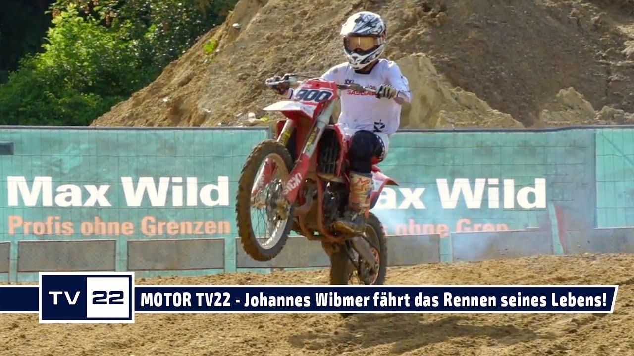 Das Rennen des Lebens für Johannes Wibmer im MY SPORT MY STORY Motocross JuniorCup - MOTOR TV22