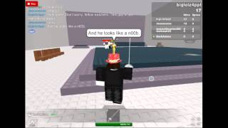 Guy on roblox thinks hes jesus