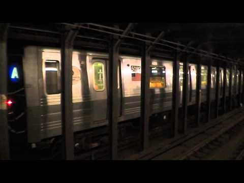 IND Eighth Avenue Line: NOT IN SERVICE R68A Train@135th Street