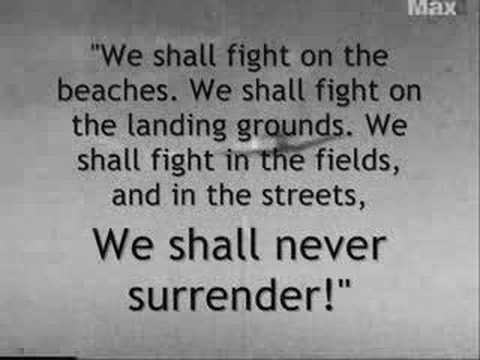 World War Ii Winston Churchill Quotes 1 Youtube