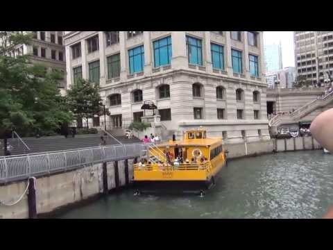 Boat Tour on the rivers of DownTown Chicago, IL 07/07/2013-1