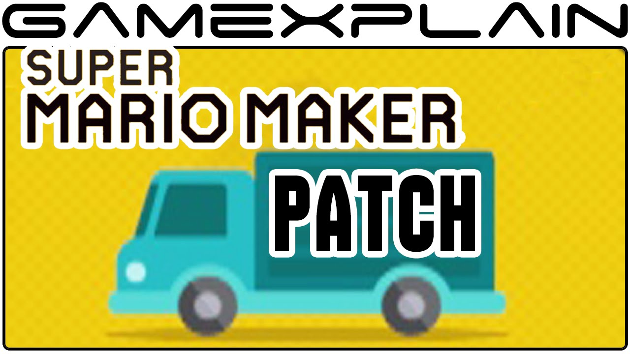mario maker patch