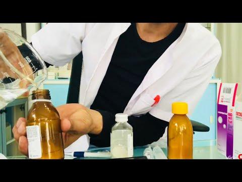 Toz halindeki ilaçlar,antibiyotikler nasıl hazırlanır?uygulamalı anlatım!!!