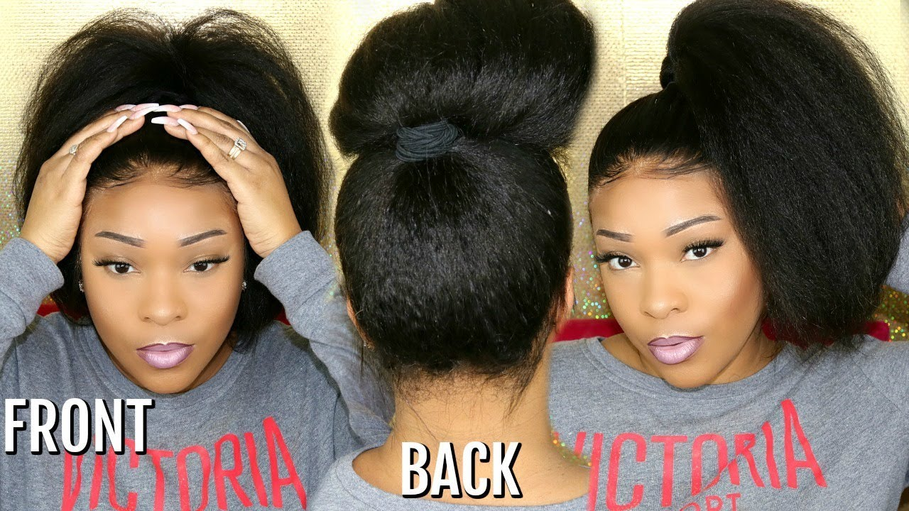 How To Secure The Back Of A 360 Lace Frontal Wig  83714a181